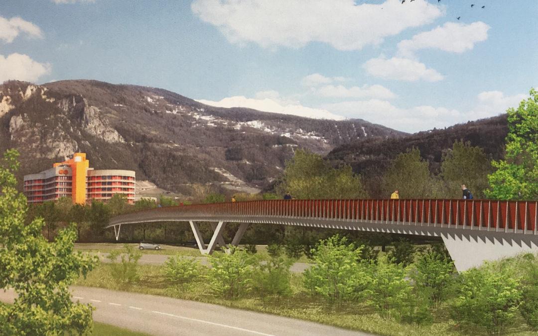 Passerelle sur l'autoroute: le projet Polydesmida primé