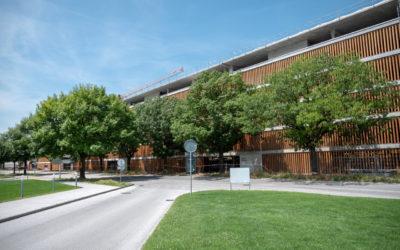 Construction du parking couvert de l'Hôpital du Valais, Site de Sion