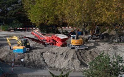 25.10.2019 – Construction des places pour les personnes à mobilité réduite