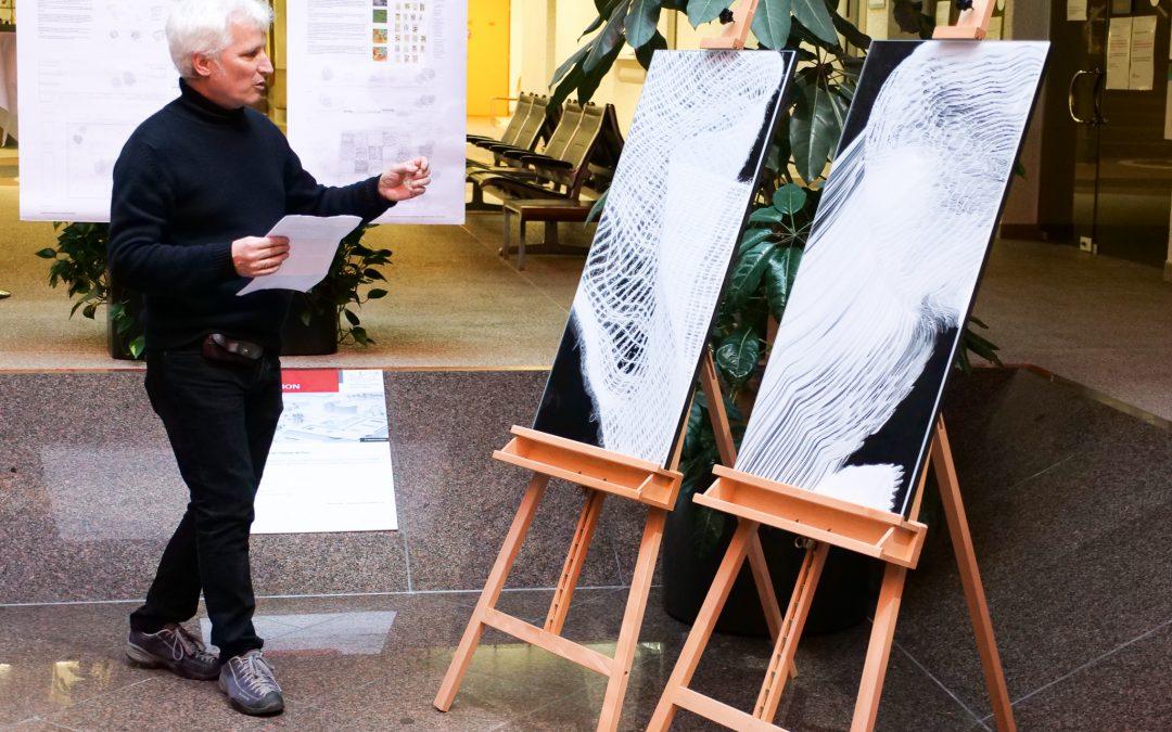 Sion: vernissage et exposition du concours «intervention artistique»