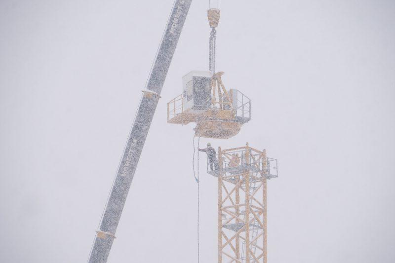 Février 2018 – Début du chantier