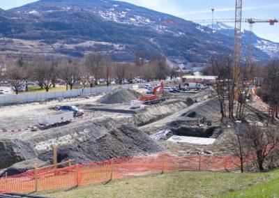 20180301 Panorama de l'avance du chantier